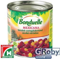 Bonduelle Vörösbab Csemegekukoricával Mexikói Mártásban (430g)
