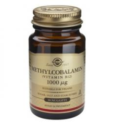 Solgar Methylcobalamin (Vitamin B12) 1000mcg - 30 comprimate