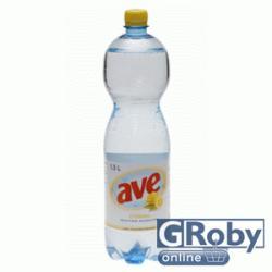 Ave Szénsavas ízesített ásványvíz - citromos 1.5l