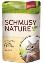 Schmusy Nature Chicken & Salmon 100g