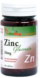 Vitaking Zinc Gluconate - 90 comprimate