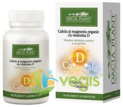 DACIA PLANT Calciu si magneziu organic cu vitamina D - 60 comprimate