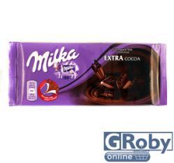 Milka Extra Cocoa extra kakaós étcsokoládé (100g)