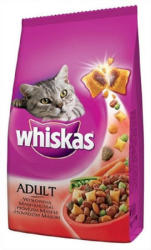 Whiskas Adult Beef & Carrot Dry Food 300g