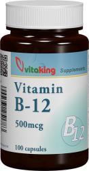Vitaking Vitamina B12 500mcg - 100 comprimate