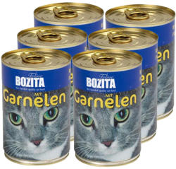 Bozita Shrimp Tin 6x410g