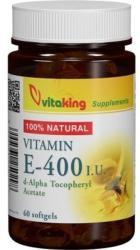 Vitaking Vitamin E-400 - 60 comprimate
