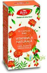 Fares Vitamina A Naturala - 30 comprimate
