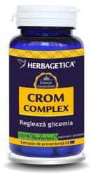 Herbagetica Crom Complex - 60 comrpimate