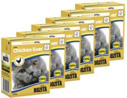 Bozita Chicken Liver in Aspic 16x370g