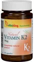 Vitaking Vitamin K2 - 30 comprimate