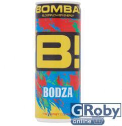 Bomba! Bodza Ízű Koffeintartalmú ital 250ml