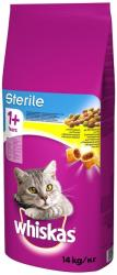 Whiskas Sterile Dry Food 2x14kg