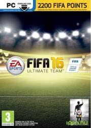 Electronic Arts FIFA 16 - 2200 FIFA Ultimate Team Points PC