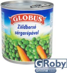 GLOBUS Zöldborsó Sárgarépával (400g)