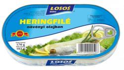 LOSOS Heringfilé Repceolajban (170g)