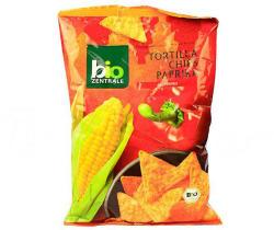 Bio-Zentrale Paprikás tortilla chips 125g