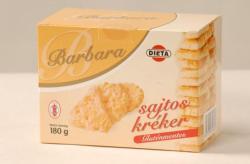 Barbara Gluténmentes sajtos kréker 180g