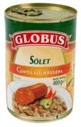 GLOBUS Sólet Csípõs Kolbásszal (400g)
