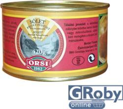 ORSI Sólet Pácolt Füstölt Pulykamellel (420g)