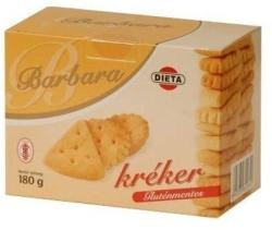 Barbara Gluténmentes kréker 180g