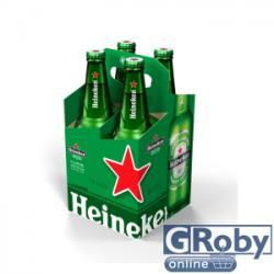 Heineken Lager üveges világos sör 4x0,4l 5%