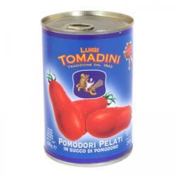 Tomadini Egész Hámozott Paradicsom (400g)