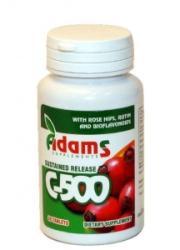 Adams Vision Vitamina C-500 cu macese - 30 comprimate