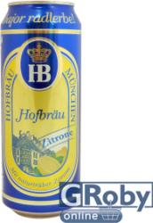 HB Citromos világos sör 0,5l - dobozos