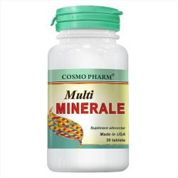 Cosmo Pharm Multiminerale - 30 comprimate