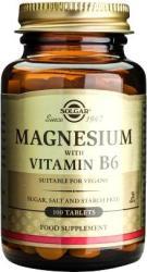 Solgar Magnesium+Vitamin B6 - 100 comprimate