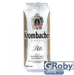 Krombacher Világos sör 0,5l 5% - dobozos