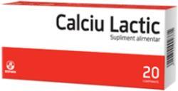 Biofarm Calciu Lactic - 20 comprimate