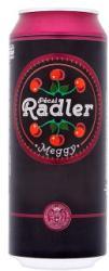 Pécsi Sör Radler Meggy ízű sörital 0,5l 1.4% - dobozos