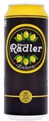 Pécsi Sör Radler Citrom ízű sörital 0,5l 1.4% - dobozos