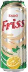 Borsodi Friss bodzás sör 0,5l 1.5% - dobozos