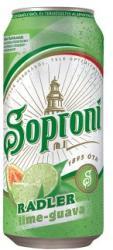 Soproni Radler lime-guava sörital 0,4l 2% - dobozos