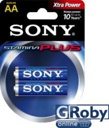 Sony Stamina Plus LR6 AA 1,5V (2)