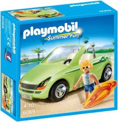 Playmobil Masina Decapotabila si Surfer (PM6069)