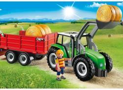 Playmobil Tractor Mare Cu Remorca (PM6130)