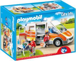 Playmobil Ambulanta Cu Lumini Si Sunete (PM6685)