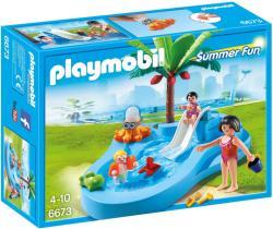Playmobil Piscina Pentru Copii Cu Tobogan (PM6673)