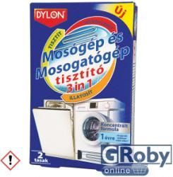 Dylon 3in1 Mosogató És Mosógép Tisztító 2db