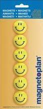 Magnetoplan Magneti whiteboard, D 30 mm, SMILEYS