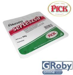 PICK Étkezési sertészsír 500g - tálcás