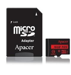 Apacer MicroSDHC 16GB Class 10 UHS-I AP16GMCSH10U5-R