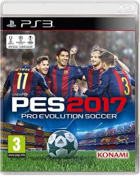 Konami PES 2017 Pro Evolution Soccer (PS3)