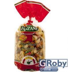 PANZANI Pipe Rigate Tricolore 3 színű durum száraztészta 500g