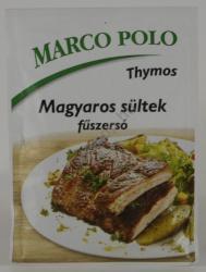 Thymos Marco Polo magyaros sültek fűszersó 30g