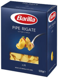 Barilla Pipe Rigate Durum száraztészta 500g